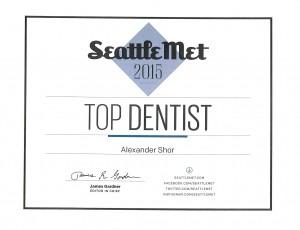 Seattle Best Dentist Alexander Shor 2015